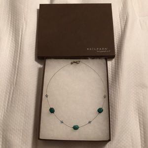 Silpada turquoise necklace gently used